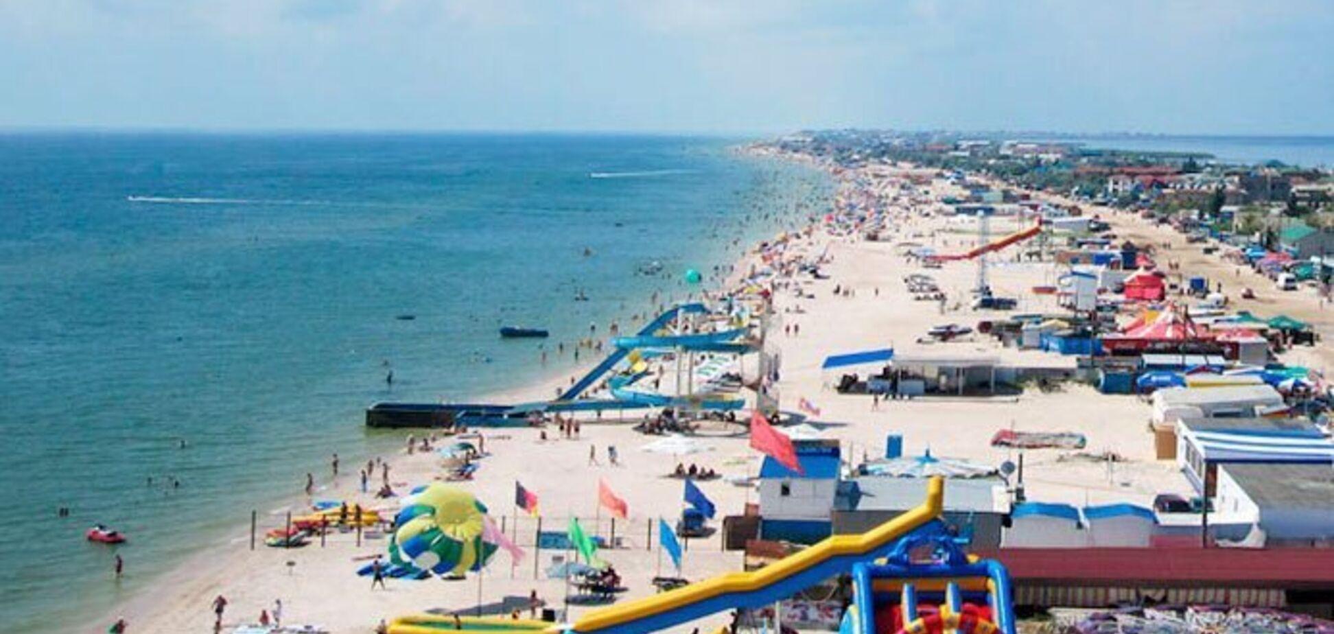 пляжі Кирилівки