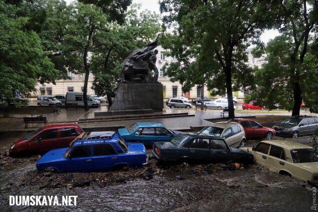 Наслідки шторму в Одесі