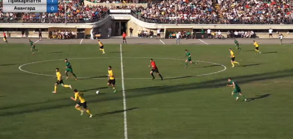 Футбольний матч чемпіонату України перервали на 'порно' - опубліковано відео