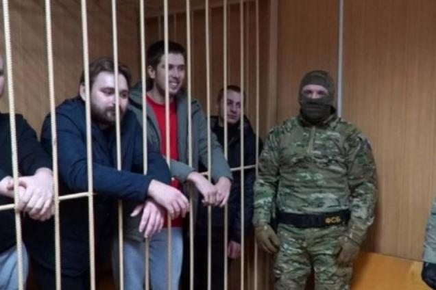 Украинские моряки в плену