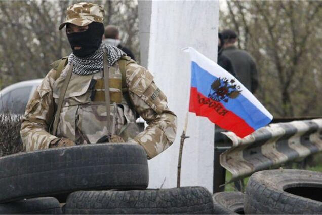 Иллюстрация. Террористы на Донбассе