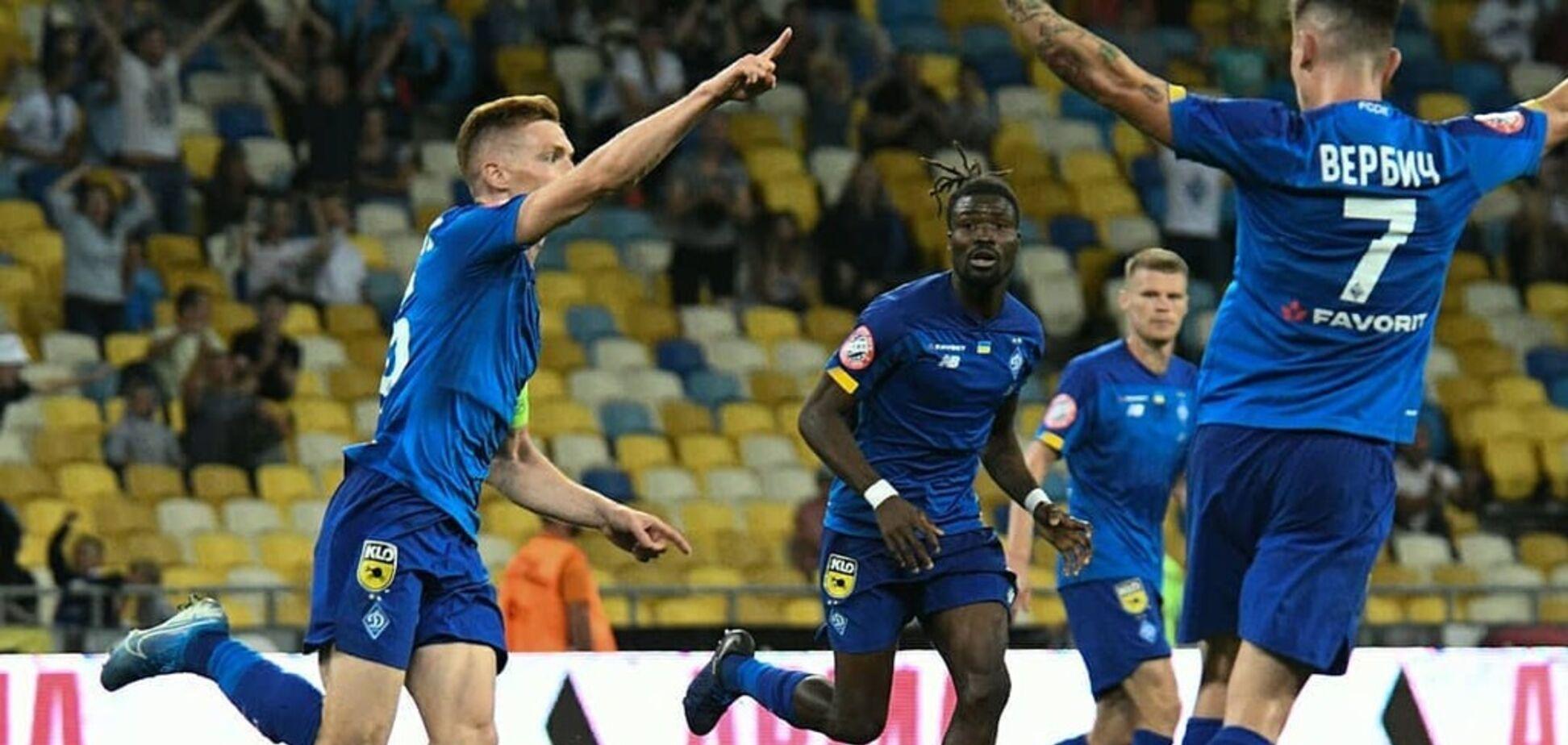 'Динамо' узнало соперников в Лиге Европы