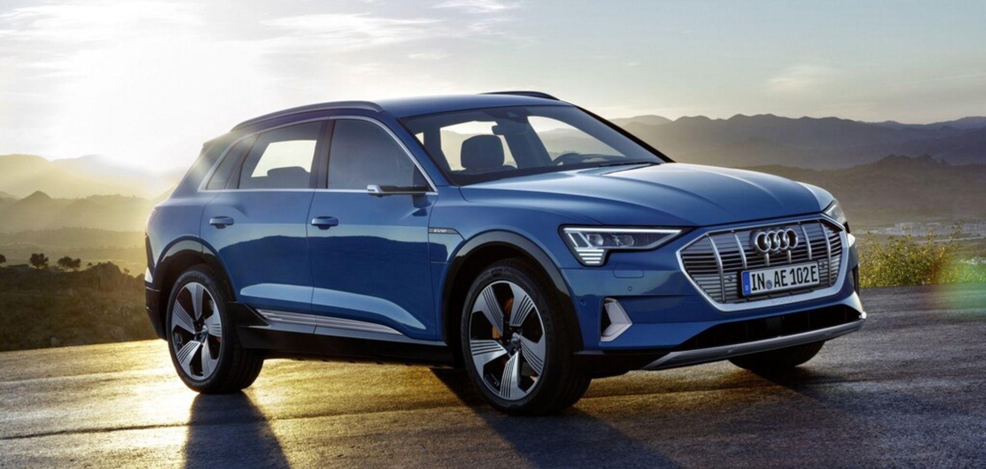 На четверть дешевле: Audi представит новый электрический внедорожник