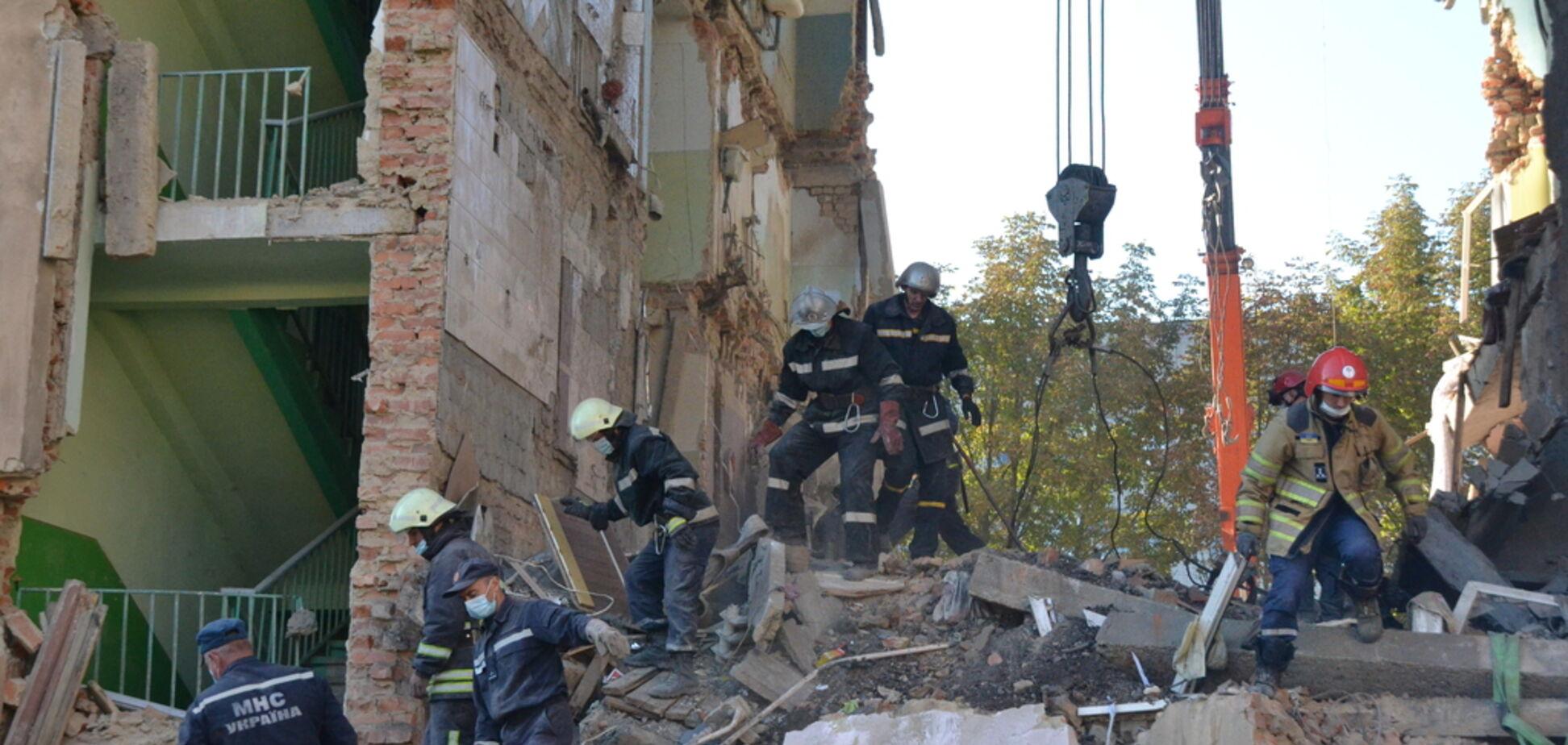 Взрыв дома в Дрогобиче: появились новые подробности о выживших. Фото
