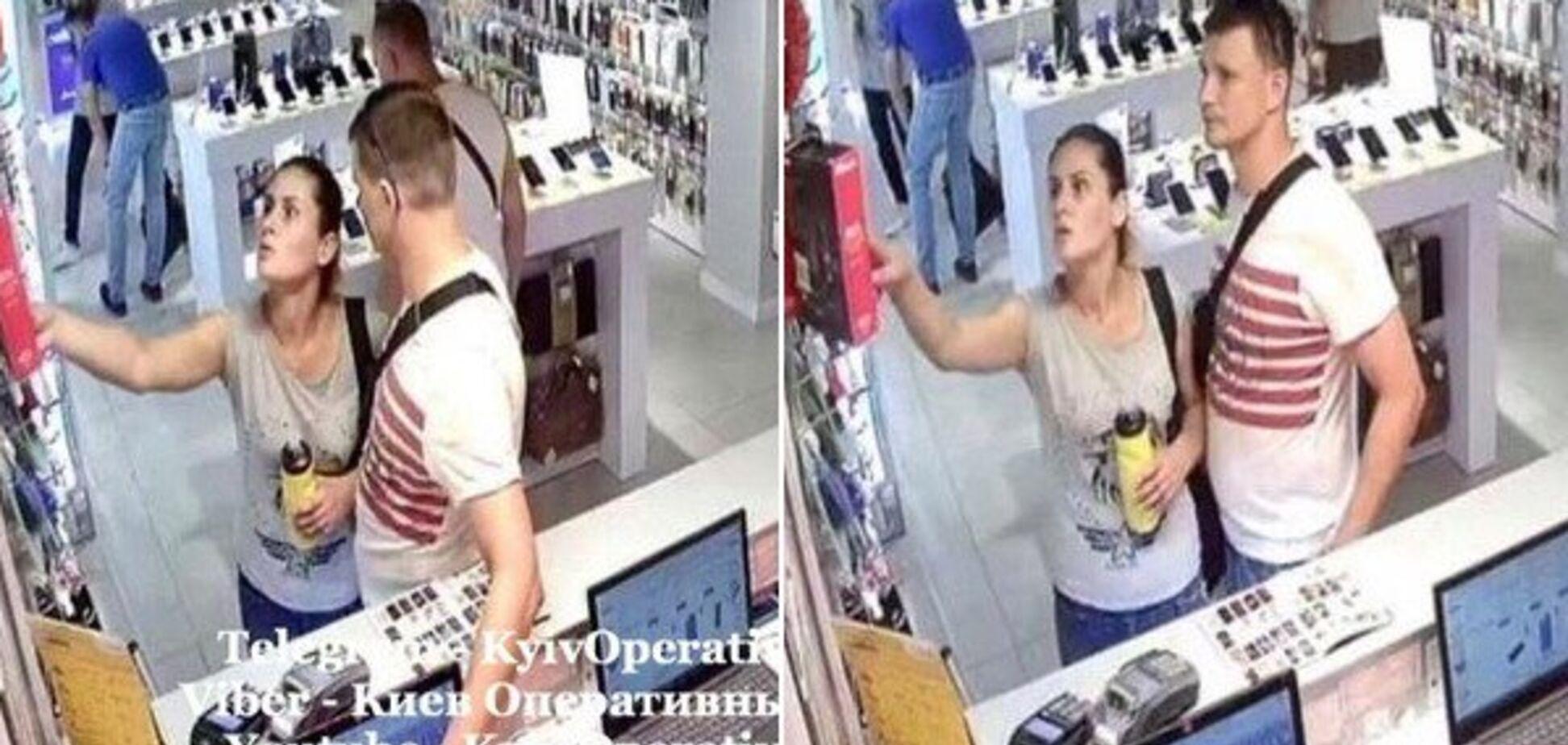 У Києві пара влаштувала крадіжку у відомому ТРЦ