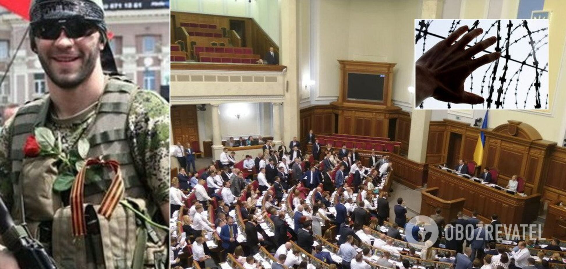 'Ви зробили це разом!' Раді запропонували амністію для 'Л/ДНР'