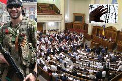 'Вы сделали это вместе!' Раде предложили амнистию для 'Л/ДНР'