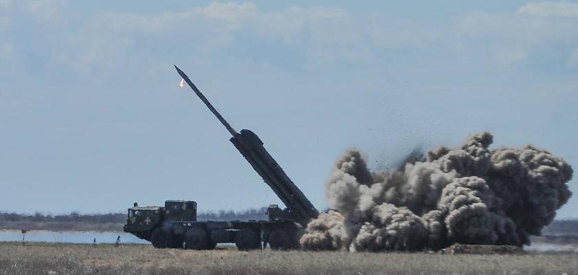 В Украине испытали новейшие реактивные ракеты: зрелищное видео