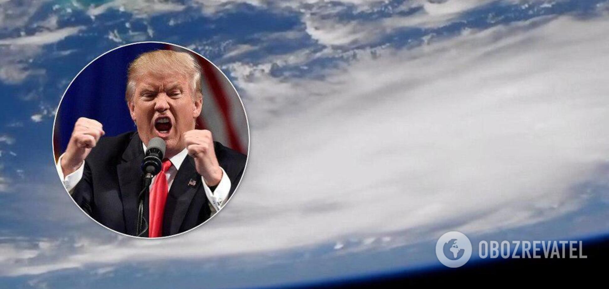 На США насувається смертоносний ураган: як виглядає небезпека, через яку Трамп не зустрінеться із Зеленським