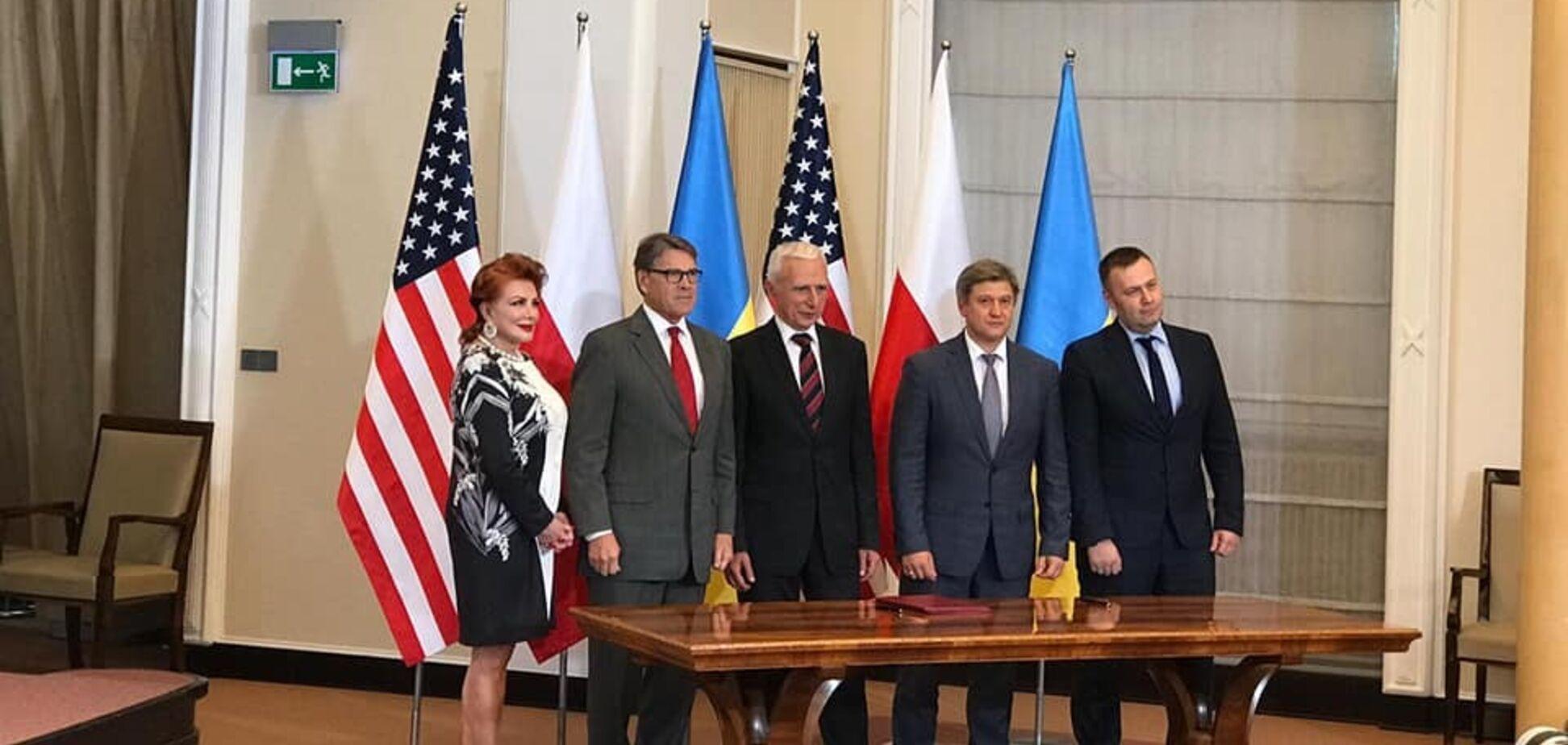Украина подписала с Польшей и США важный меморандум: что известно
