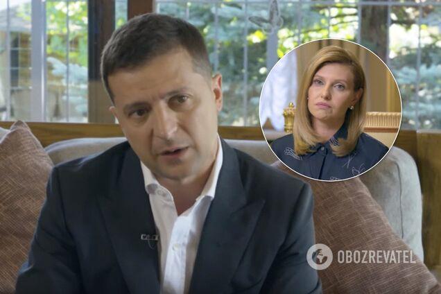 Зеленский рассказал о жене Елене