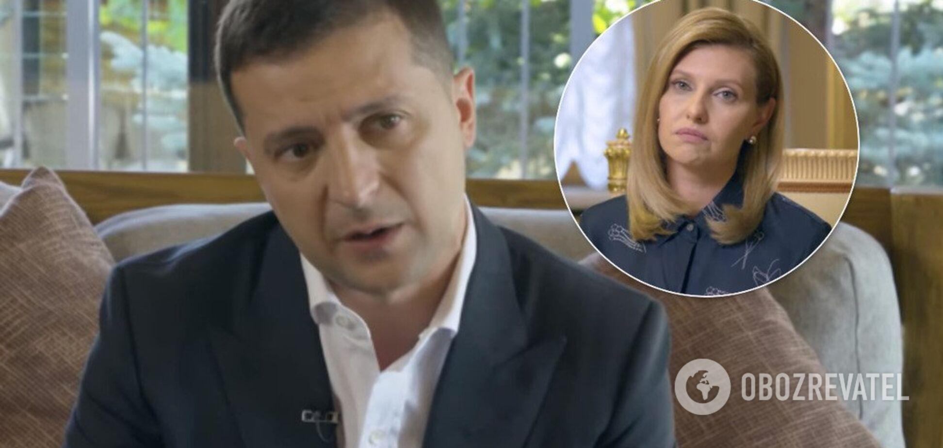 'Я советуюсь с ней': Зеленский откровенно рассказал об отношениях с женой