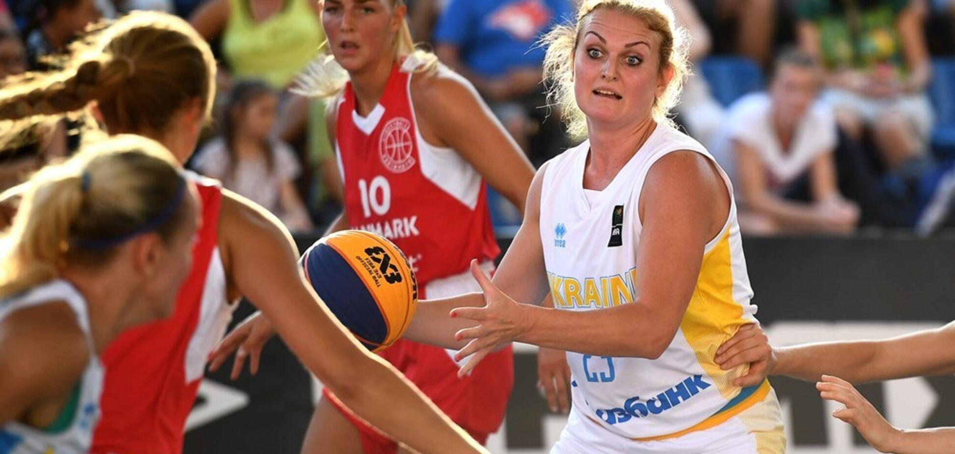 Украинки вышли в четвертьфинал Евробаскета 3х3