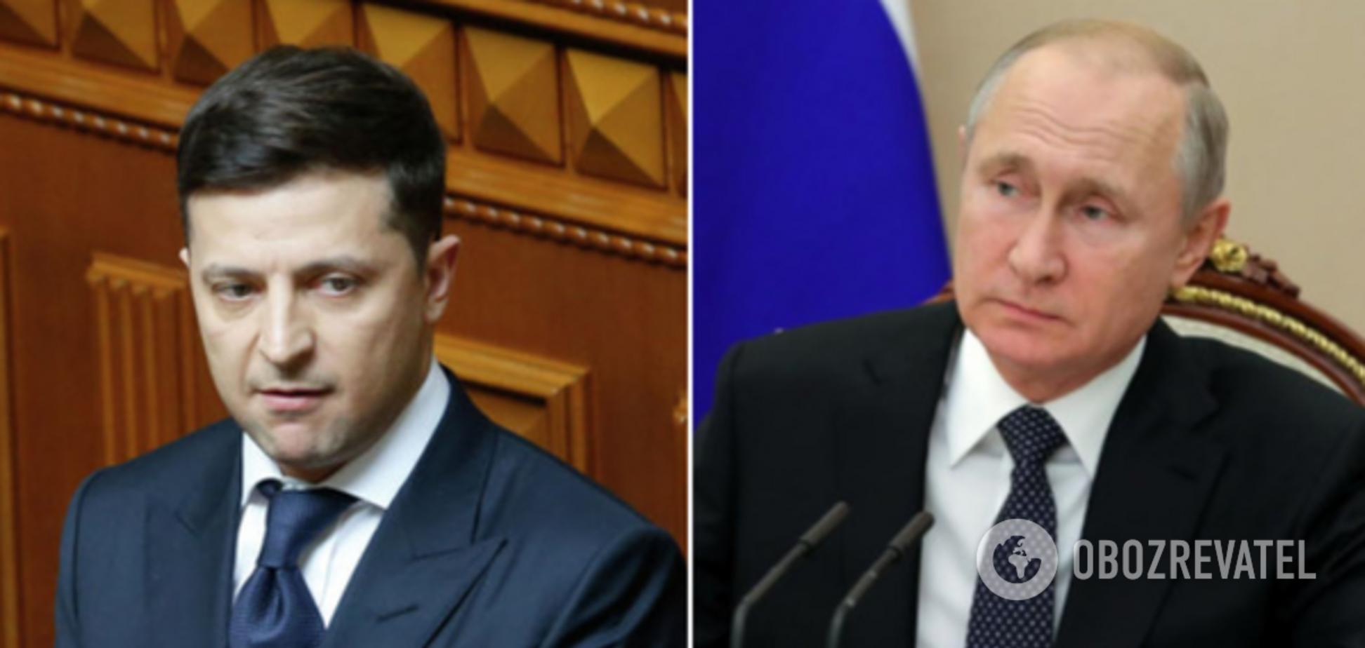 'Только глаза в глаза': Зеленский признался, о чем говорил с Путиным