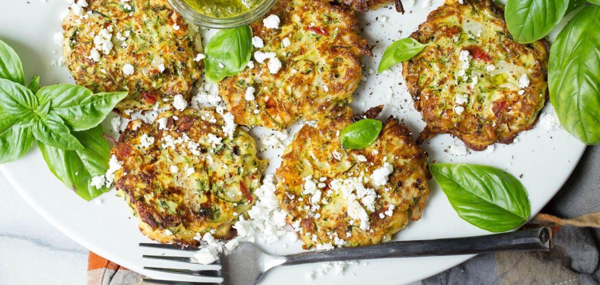 Рецепт дуже смачних оладок із кабачків з сиром