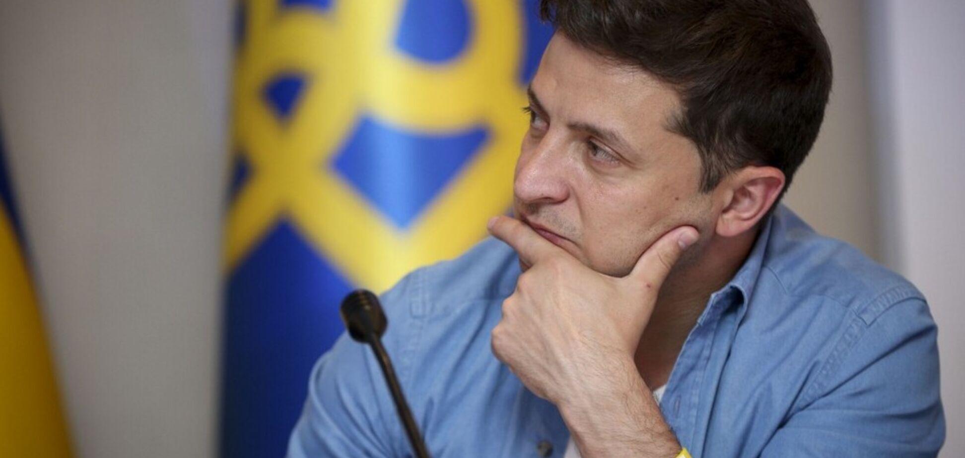 Зеленскому спрогнозировали обвал рейтинга: что его погубит