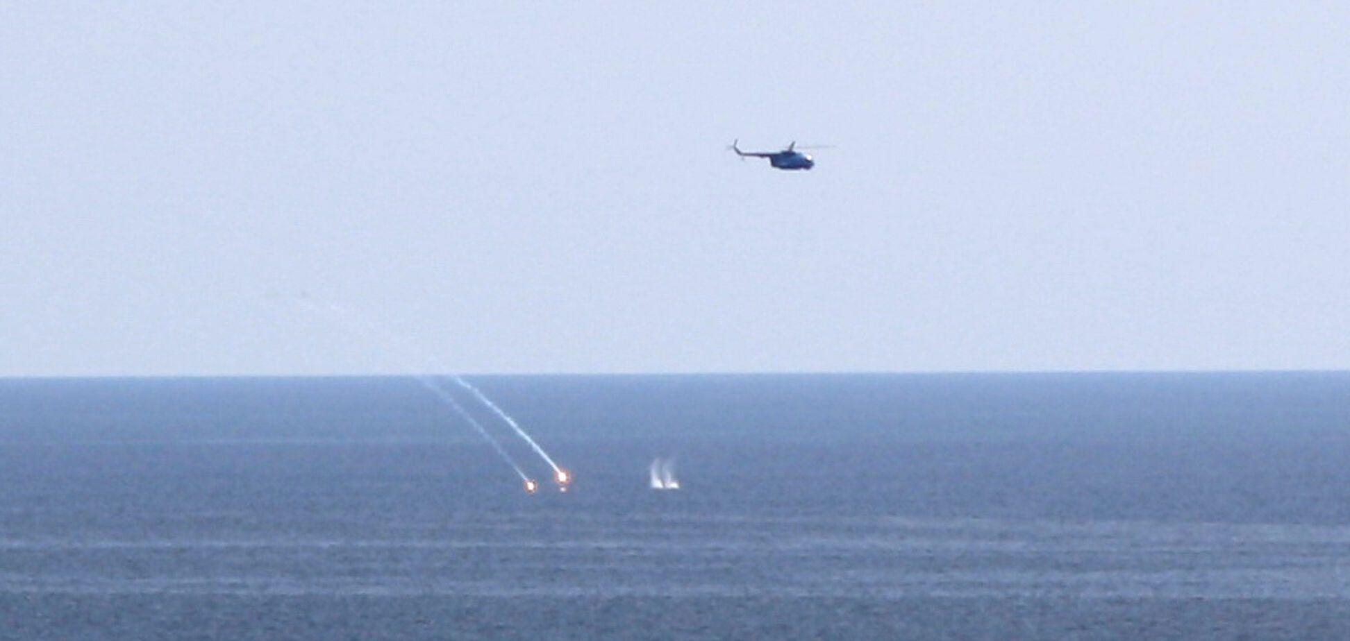 Ударили бомбой по подлодке: украинские военные показали мощь в Черном море