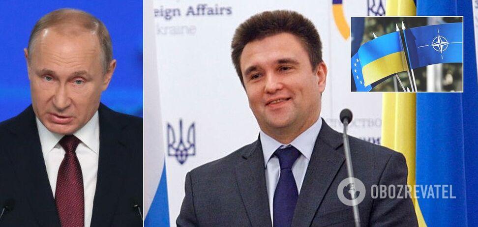 Путин будет дробить Украину, но у нас есть шанс – Климкин