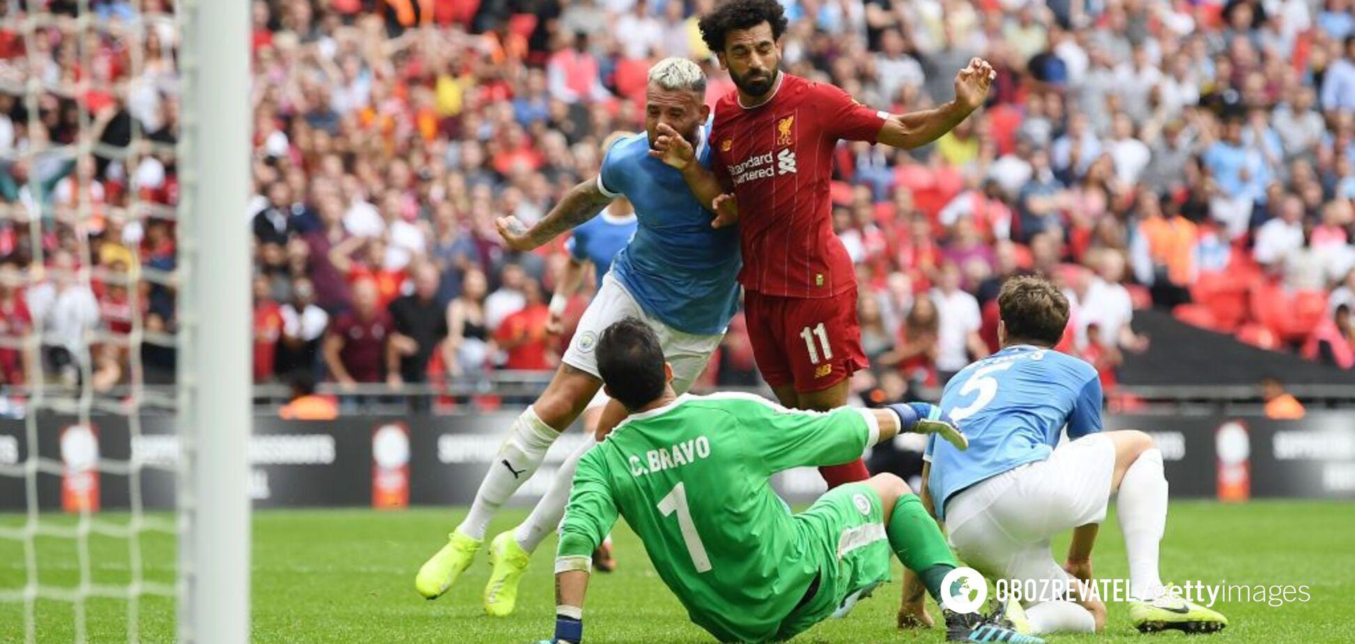 'Ліверпуль' - 'Манчестер Сіті': відеоогляд матчу за Суперкубок Англії