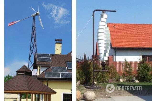 Домашние ветровые электростанции