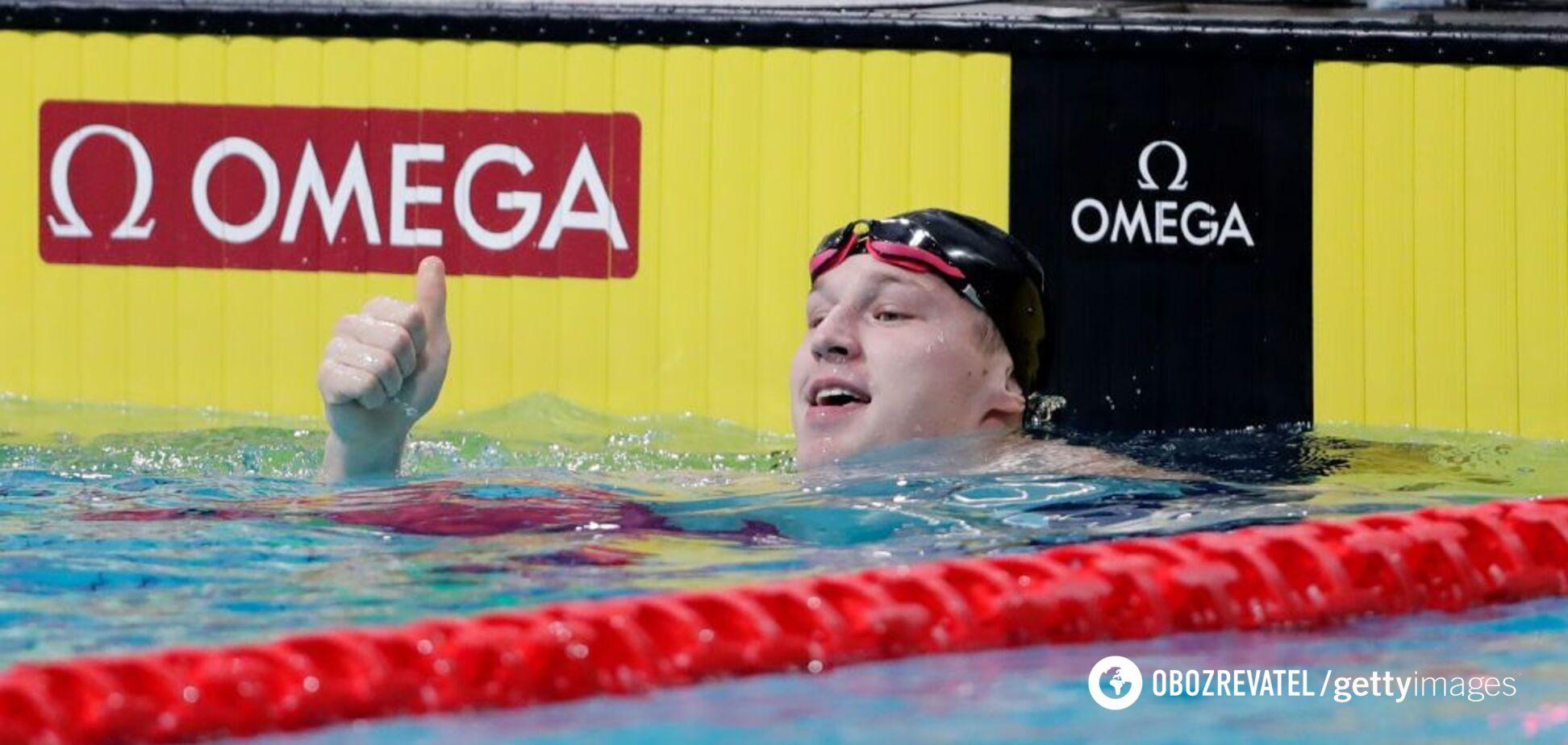 Випередив на 0,01 секунди: український плавець виграв 'золото' Кубка світу