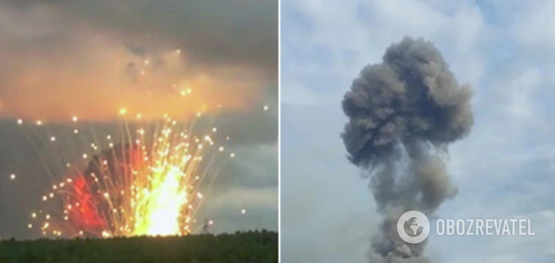 Взрывы под Красноярском