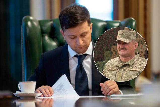 Зеленський призначив Кравченка командувачем ОС