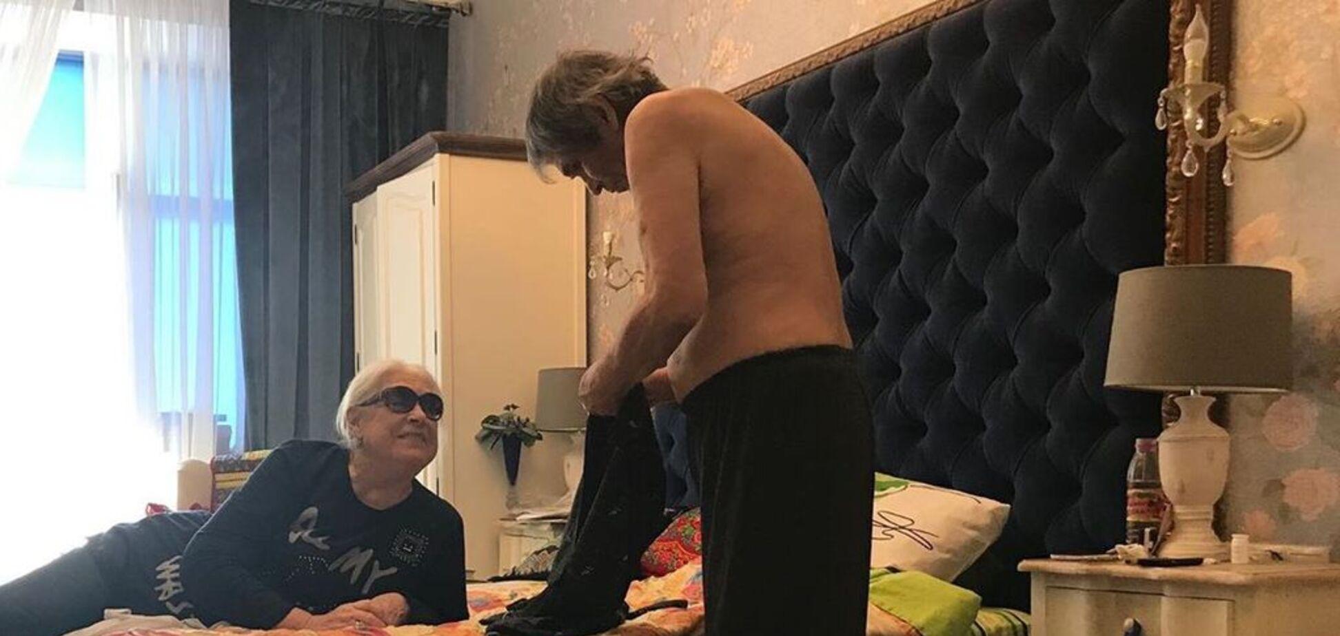 '15 лет не ступала нога мужчины': дочь Шукшиной рассказала о сексе 80-летней мамы с Алибасовым