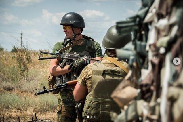 Боєць Збройних Сил України, ілюстрація