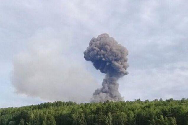 Взрывы возле Ачинска