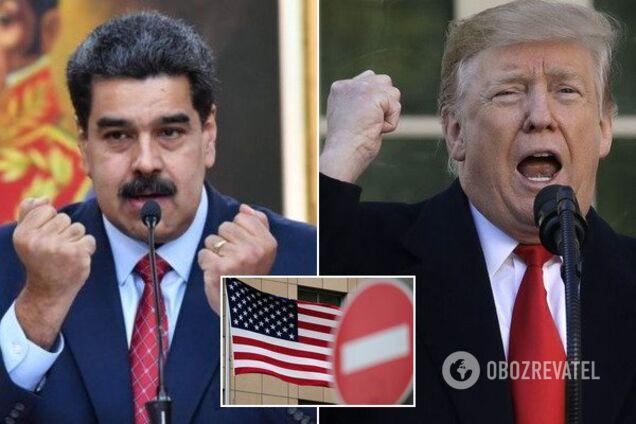 США ввели санкции против Венесуэлы