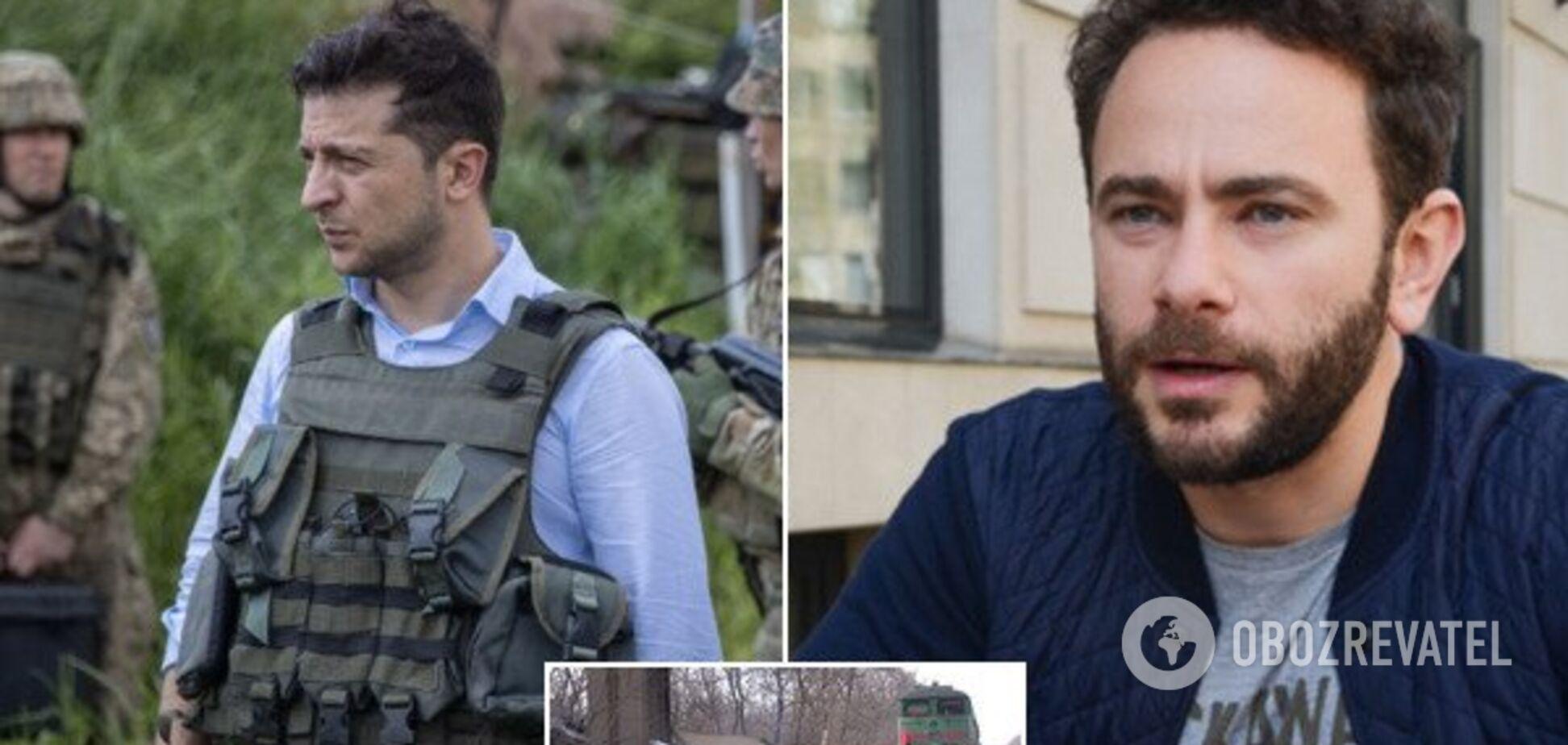 'Они не убивали наших солдат': у Зеленского предложили снять блокаду Донбасса