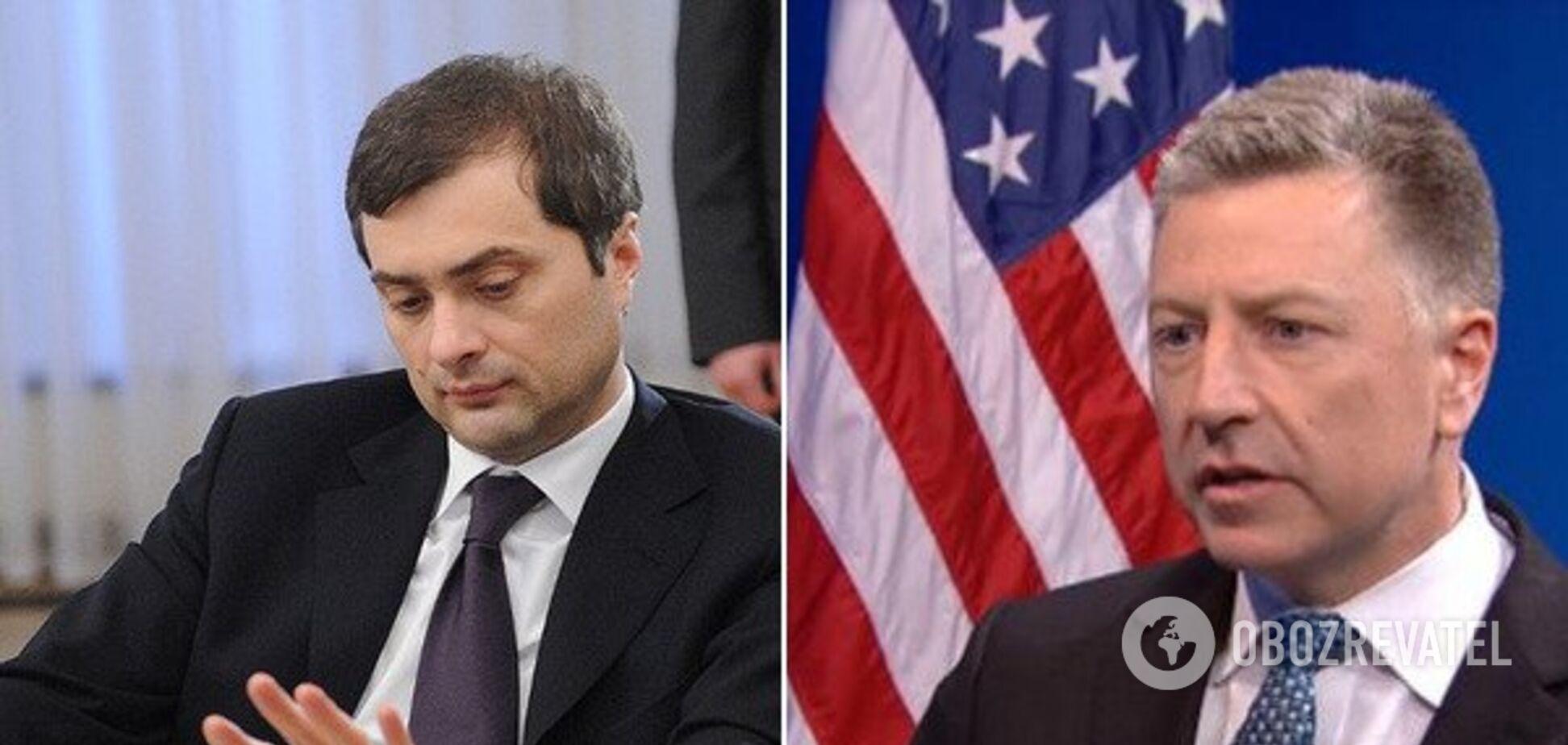 Хочуть обговорити Донбас: Волкер раптово призначив зустріч Суркову
