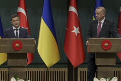 Пресс-конференция Зеленского и Эрдогана