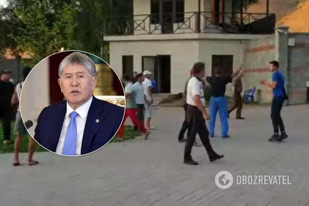 В Киргизии со штурмом задерживали Атамбаева