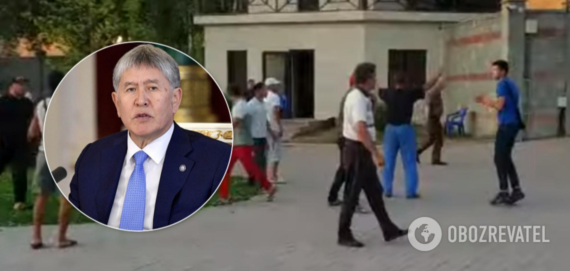 В Киргизии со штурмом задержали Атамбаева