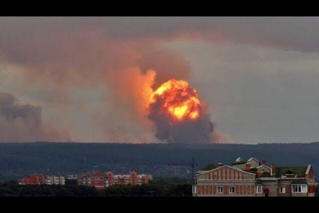 Взрыв в Архангельской области