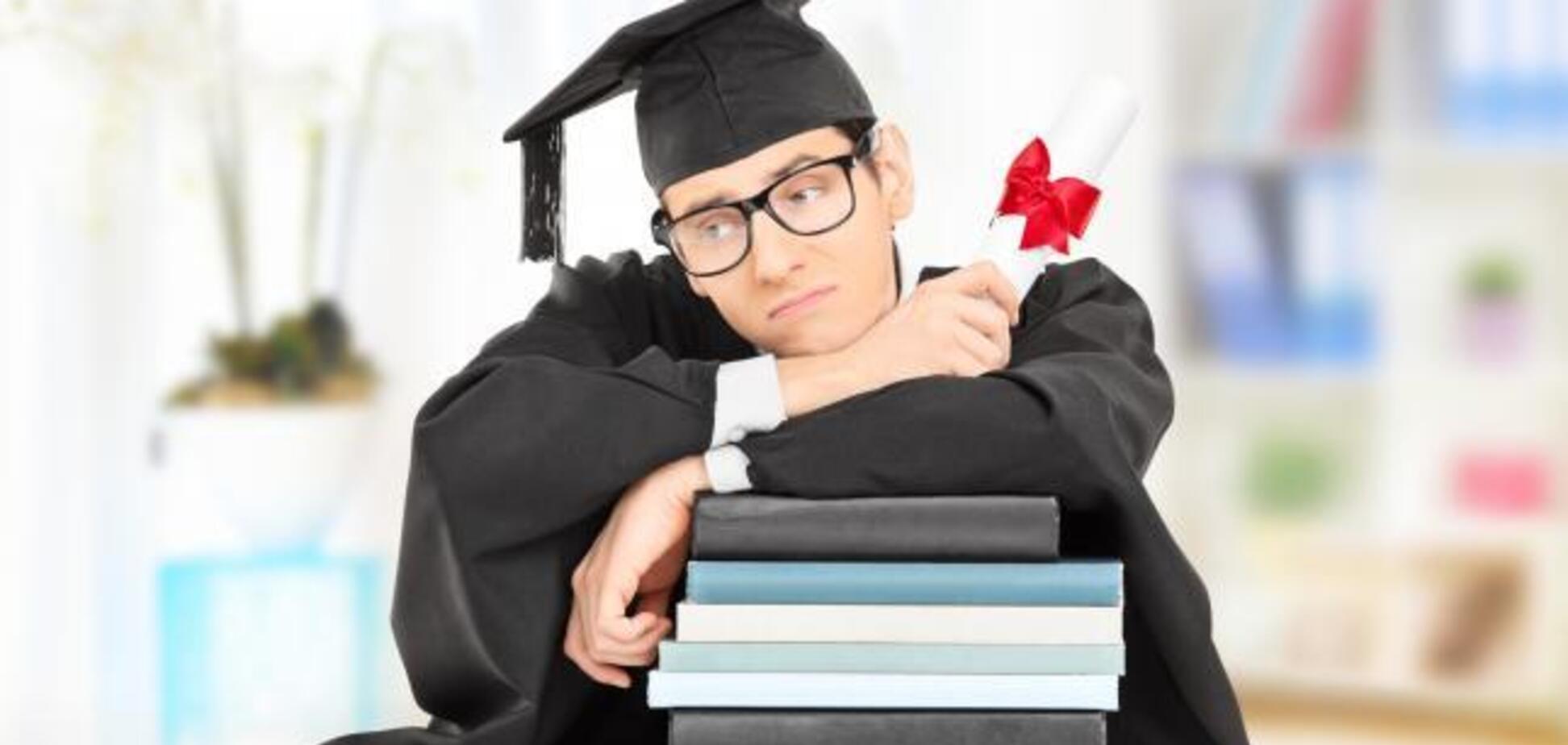 В Украине количество студентов за 20 лет уменьшилось почти вдвое: что случилось