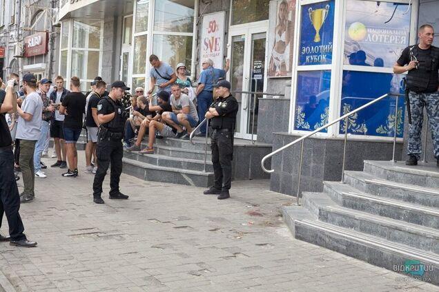 Поліція затримала підозрюваного в нападі на активістів в залі ігрових автоматів