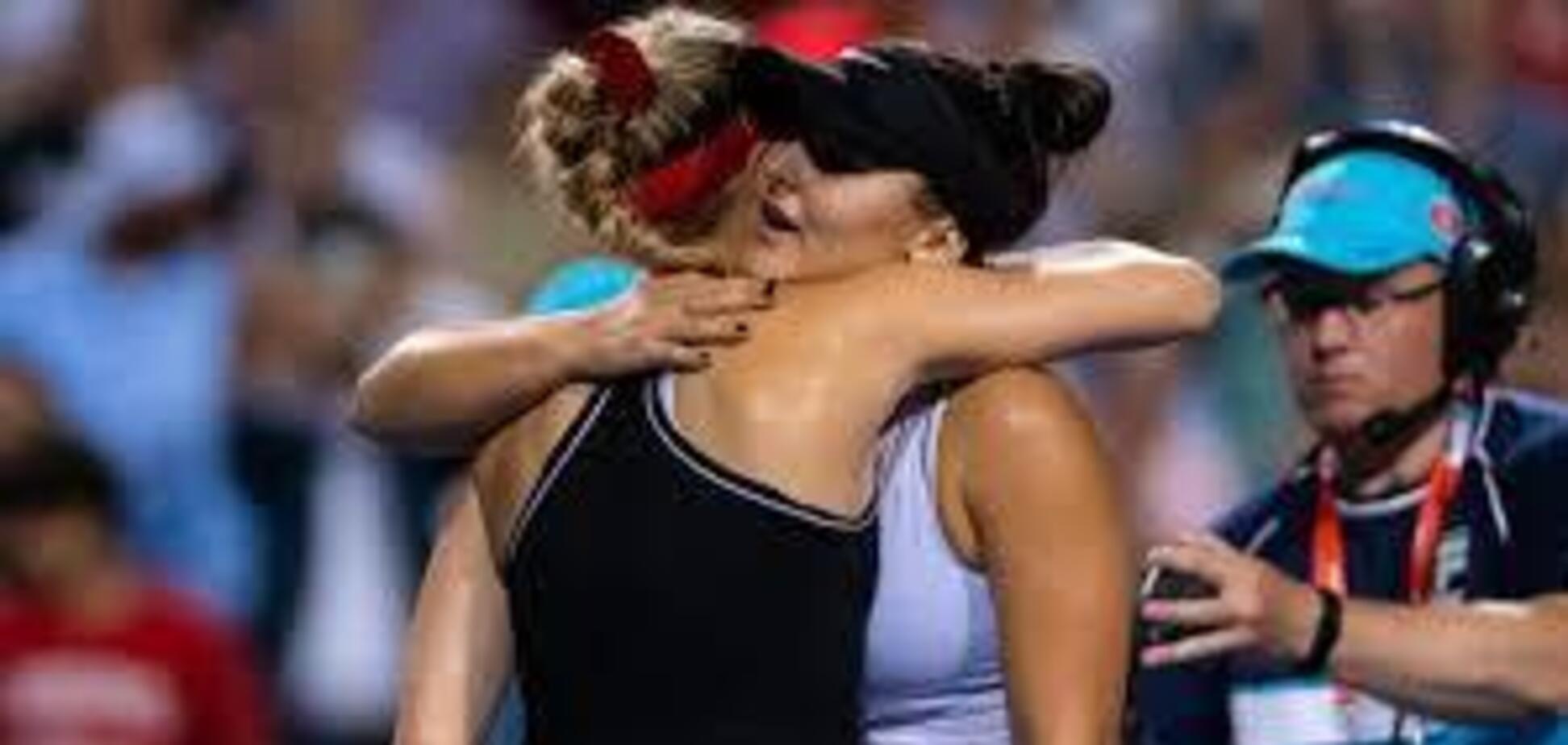 'Наші попки': знаменита тенісистка влаштувала флірт із суперницею