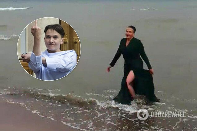 Надія Савченко постала у незвичному образі