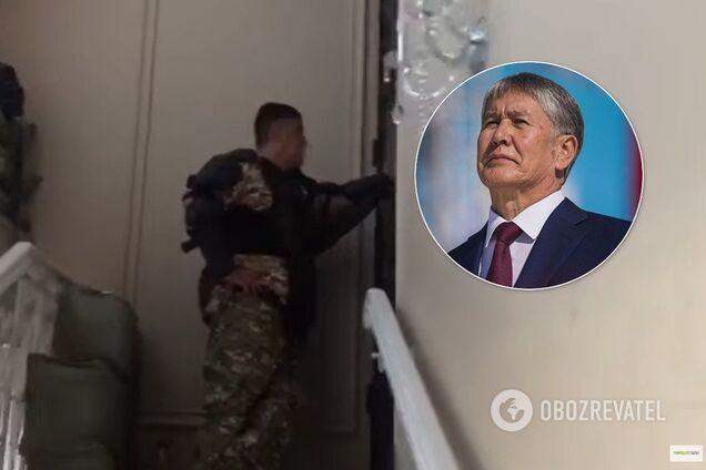 Переговоры Курсана Асанова и Алмазбека Атамбаева