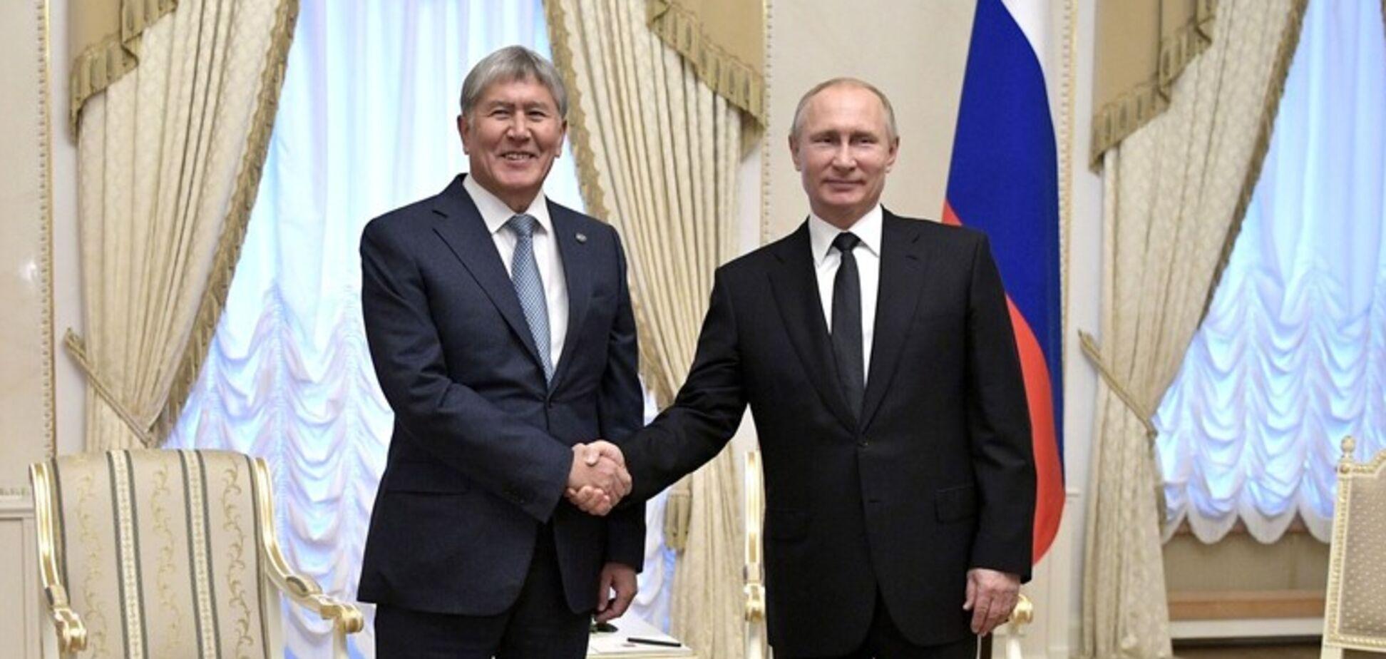 Путін введе війська до Киргизстану? Названо умову