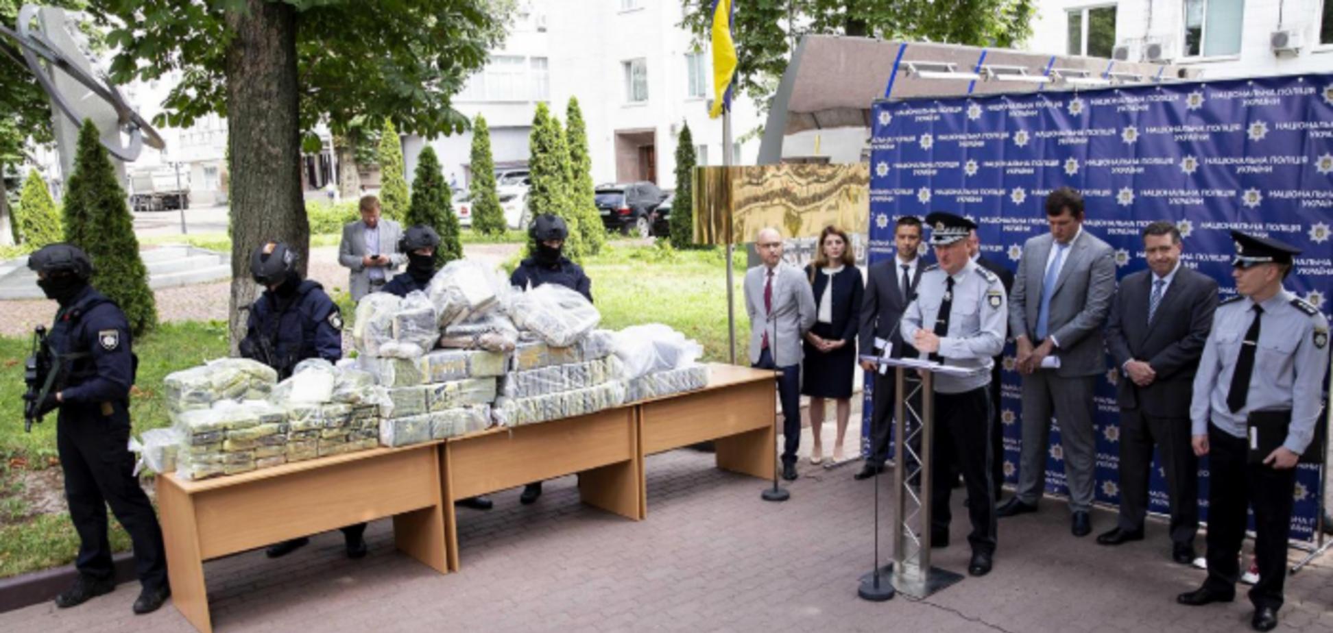 Контрабанда 400 кг кокаїну