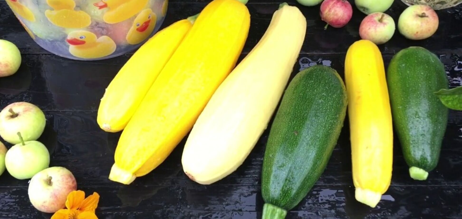 Рецепт надсмачної страви з кабачків