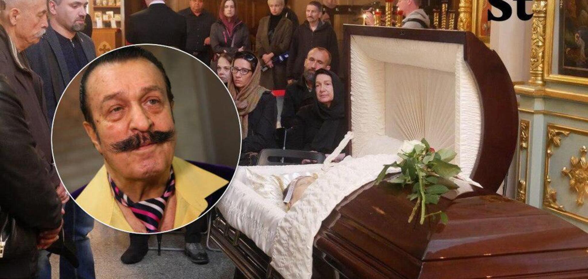 Похорон Віллі Токарєва: з'явилося перше фото співака після смерті