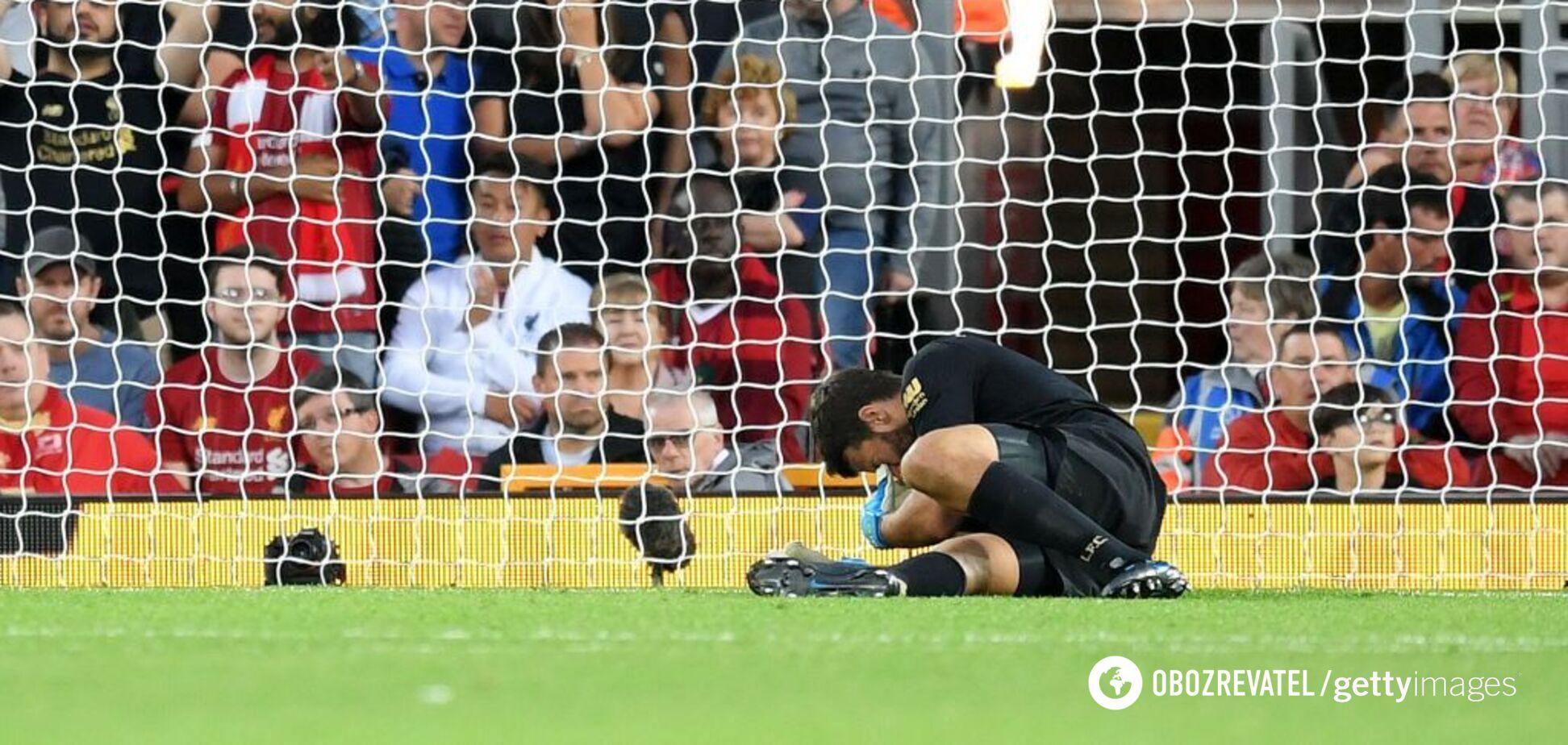 Сезон английской Премьер-лиги начался с жуткого инцидента