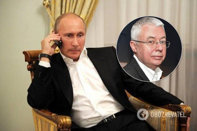 Путин и Малашенко