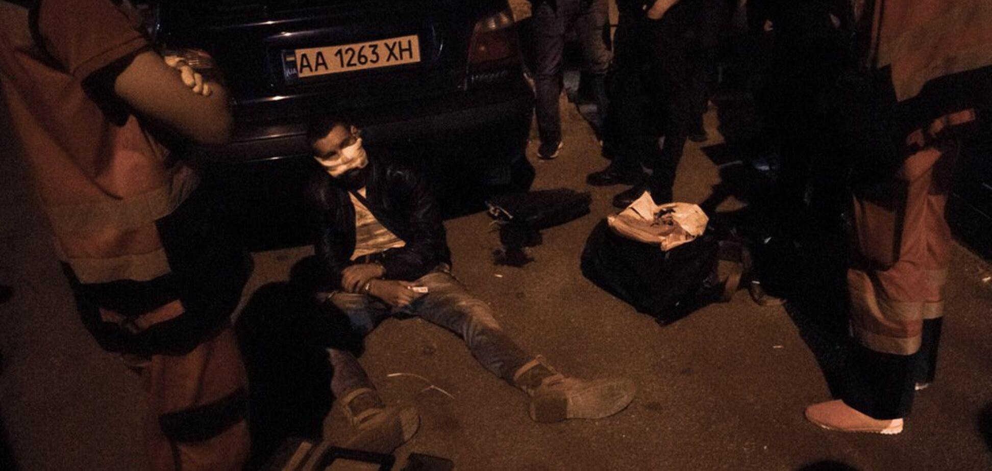 У Києві грабіжнику офісу нардепа прострелили обличчя: перші деталі