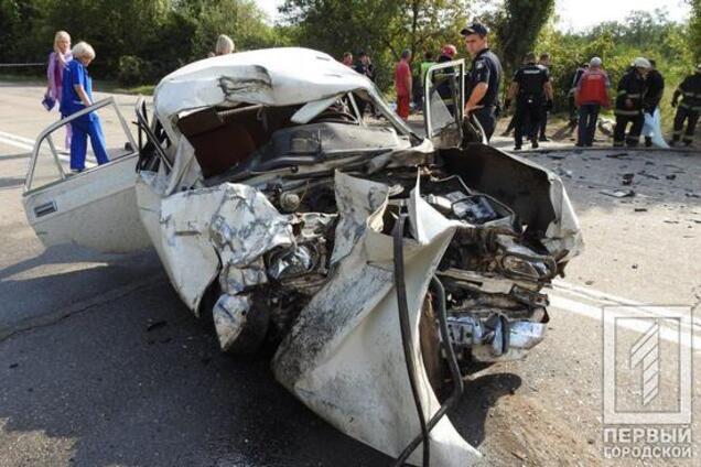 Три людини загинули в ДТП в Кривому Розі